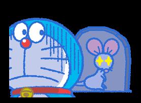 Doraemon & Dorami klistremerker 22