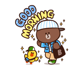 LINE Characters: Pretty Phrases Stickers 22