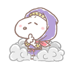 Lovely Snoopy at Work Stickers 22