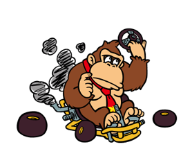 Mario Kart Stickers 22
