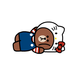 LINE FRIENDS & HELLO KITTY 22