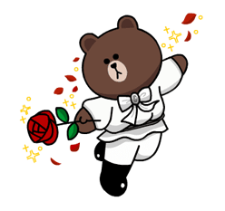 LINE Characters: Burning Emotion Stickers 22