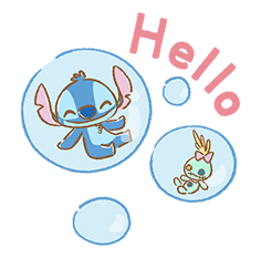 Stitch Cuteness Stickers 22