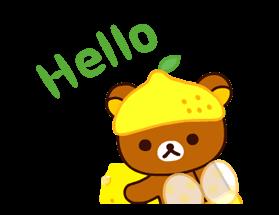松弛熊&Kiiroitori贴纸 22
