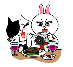 Cony and Jessica: Girls Night Out Stickers 22