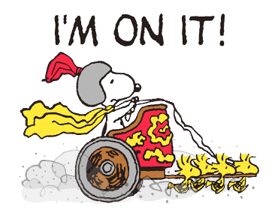 Snoopy in Disguise Stickers 22