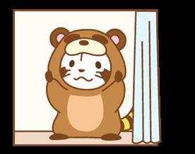 ANIMAL ☆ Rascal Klistermärken 22