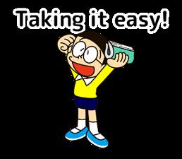 Doraemon: Котировки Наклейки 22