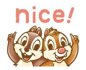 Chip 'n' Dale Fluffy Moves Stickers 22