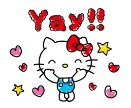 Hello Kitty's Quick Replies! Stickers