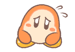 Puffball Sticker Set Kirby 23