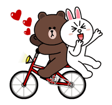 Brown & Cony's Thrilling Date Stickers 23