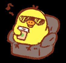 Adesivi Rilakkuma ~ Kiiroitori Diary ~ 23