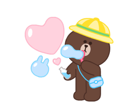 LINE Characters: Pastel Cuties Stickers 23