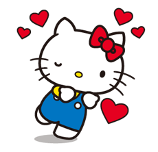 Hello Kitty 2 Stickers 23