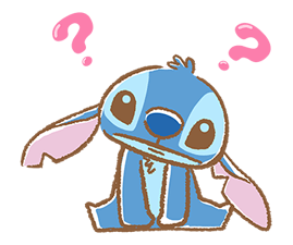 Stitch Cuteness Stickers