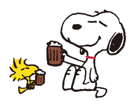 SNOOPY★Vintage Stickers 23