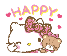 Hello Kitty: Adorable Stickers 23