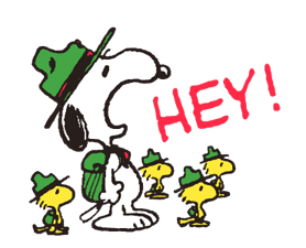 Snoopy in Disguise klistremerker 23