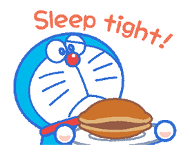 Doraemon's Everyday Expressions Stickers 23