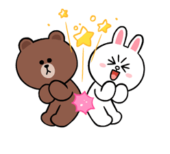LINE Characters: Cute and Soft Stickers