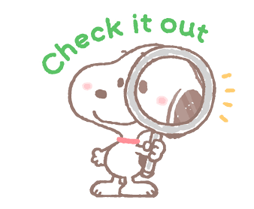 Lovely Snoopy at Work Stickers 24