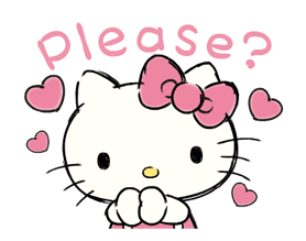 Hello Kitty's Daily Cuteness Stickers 23