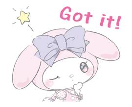 LARME x My Melody Stickers 24