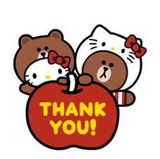 LINE FRIENDS & HELLO KITTY 24