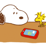 Snoopy & Woodstock Stickere 4