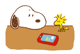 SNOOPY & Woodstock Stickers 4