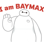 Big Hero 6 stickers 2 3