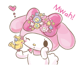My Melody: Too Cute for You! Stickers 3