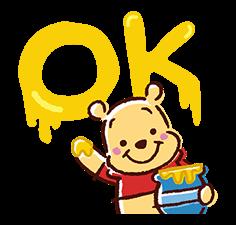 Winnie The Pooh Aufkleber 3