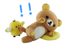 Rilakkuma film Stickers 25