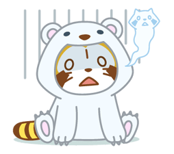 ANIMAL ☆ Rascal Klistermärken 3