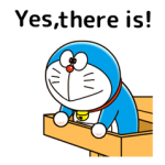 Doraemon: Quotes Stickers 3