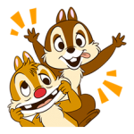 Chip 'n' Dale Stickers 3