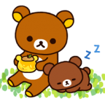 Rilakkuma~Korilakkuma with a new friend~ Stickers 3