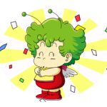 Dr.Slump -Arale Stickers 3