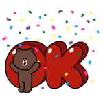 Brown et Cony Fun Stickers Pack Taille 3
