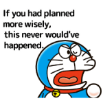 Doraemon's Adages Stickers 3