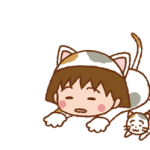 Chibi Maruko-न्यान स्टिकर 3