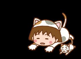 Chibi Maruko-nyan ਸਟਿੱਕਰ 3