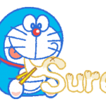 Doraemon Everyday Ekspresi Stiker 3