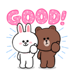 LINE Characters: Cute and Soft Stickers 3