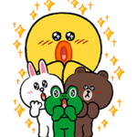 LINE Tecken Fun Size Pack Stickers 3