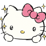 de Hello Kitty Daily Cuteness Pegatinas 3