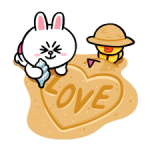 LINE Characters: Leuk en Soft Summer Stickers 3