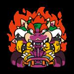Mario Kart Nálepky 3